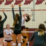 Girls Volleyball vs. Zionsville (8/18/18) (Courtesy of Michael Hoffbauer)