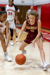 Girls Basketball vs. Park Tudor (12/11/18) (Courtesy of Michael Hoffbauer