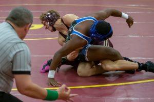 Wrestling vs. Providence Cristo Rey (11/29/18) (Courtesy of Michael Hoffbauer)