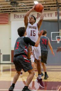 Boys Basketball vs. New Albany (11/17/18) (Courtesy of Michael Hoffbauer)