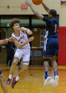 Boys Basketball vs. Gary West Side (12/29/18) (Courtesy of Michael Hoffbauer)