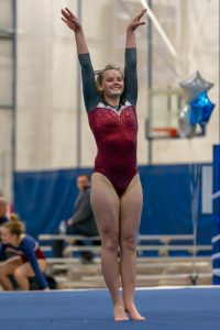 Gymnastics @ Franklin Central (2/19/19) (Courtesy of Michael Hoffbauer)