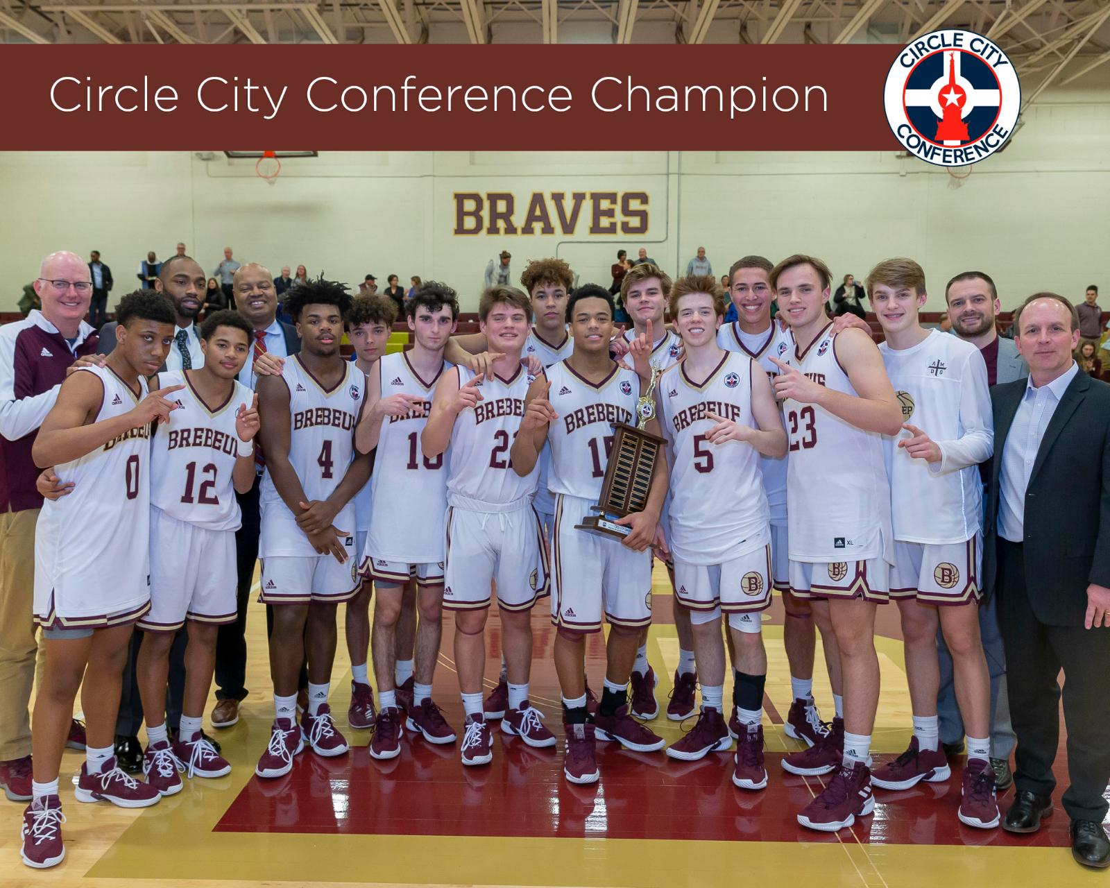 Boys Basketball Earns Conference Championship