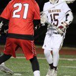 Boys Lacrosse vs. Center Grove (3/15/19) (Courtesy of Lisa Hirschfeld)