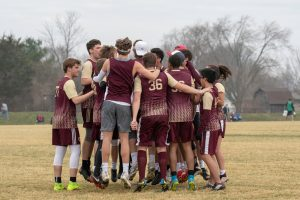Ultimate Frisbee @ Indy Invite (4/6 & 4/7/19) (Courtesy of Liz Dapp)