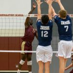 Boys Volleyball vs. Cathedral (3/28/19) (Courtesy of Michael Hoffbauer)