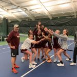 Brebeuf Girls Tennis Wins Circle City Conference Championship Besting Guerin 4-1