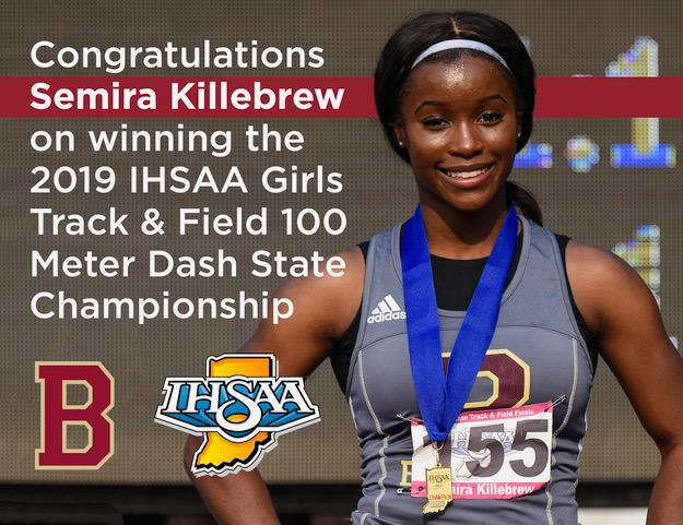 Semira Killebrew Captures State Championship