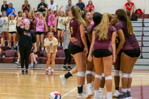 Volleyball vs. Fishers (8/24/19) (Courtesy of Michael Hoffbauer