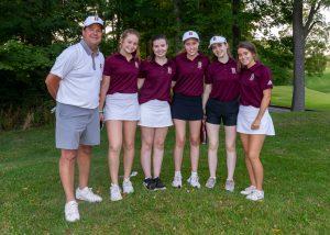 Girls Golf vs. University & Cardinal Ritter (9/4/19) (Courtesy of Michael Hoffbauer)