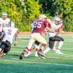 JV Football vs. Cardinal Ritter (9/3/19) (Courtesy of Liz Dapp)