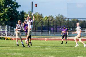 JV Football vs. Guerin Catholic (9/16/19) (Courtesy of Liz Dapp)