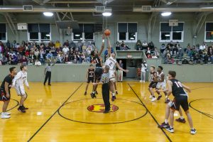 Boys Basketball vs. Beech Grove @ Hoosier Gym (12/28/19) (Courtesy of Michael Hoffbauer)