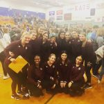 Girls Varsity Dance finishes 2nd place at Mt. Vernon High School