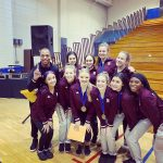 Girls Varsity Dance finishes 1st place at Homestead High School