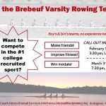 Brebeuf Crew Callout Meetings