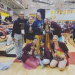 Brebeuf Dance Team finishes 4th place at Semi-State