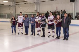 Hockey Senior Night (2/22/20) (Courtesy of Michael Hoffbauer)