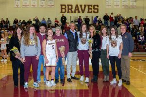 Girls Basketball Senior Night (1/24/20) (Courtesy of Walt Thomas Sr.)
