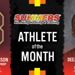 The September Summers Plumbing Heating & Cooling Athletes of the Month are…