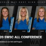 CONGRATULATIONS TO OUR 2020 SWSC ALL CONFERENCE GIRLS GOLFERS