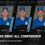CONGRATULATIONS TO OUR 2020 SWSC ALL CONFERENCE BOYS GOLFERS