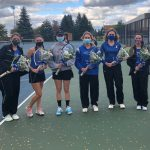 Girls Tennis Celebrates their 2020 Senior Night against Sandburg