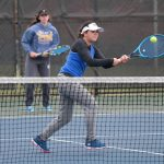 Comeback Kids Mia Galassini and Camryn Mitchell Lead the Griffins to a Girls Tennis Sectional Championship