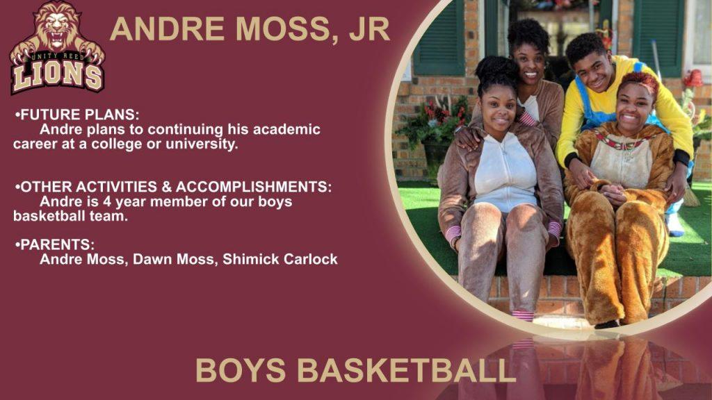 Andre Moss Senior Slide