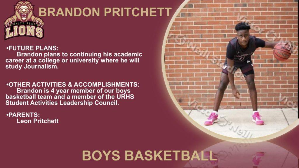 Brandon Pritchett Senior Slide