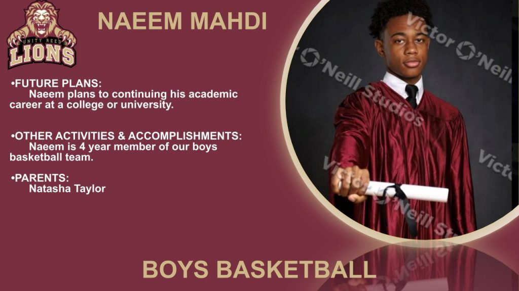 Naeem Mahdi Senior Slide