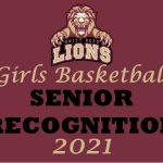 Girls basketball senior recognition