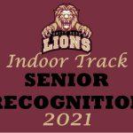 Indoor Track Senior Recognition
