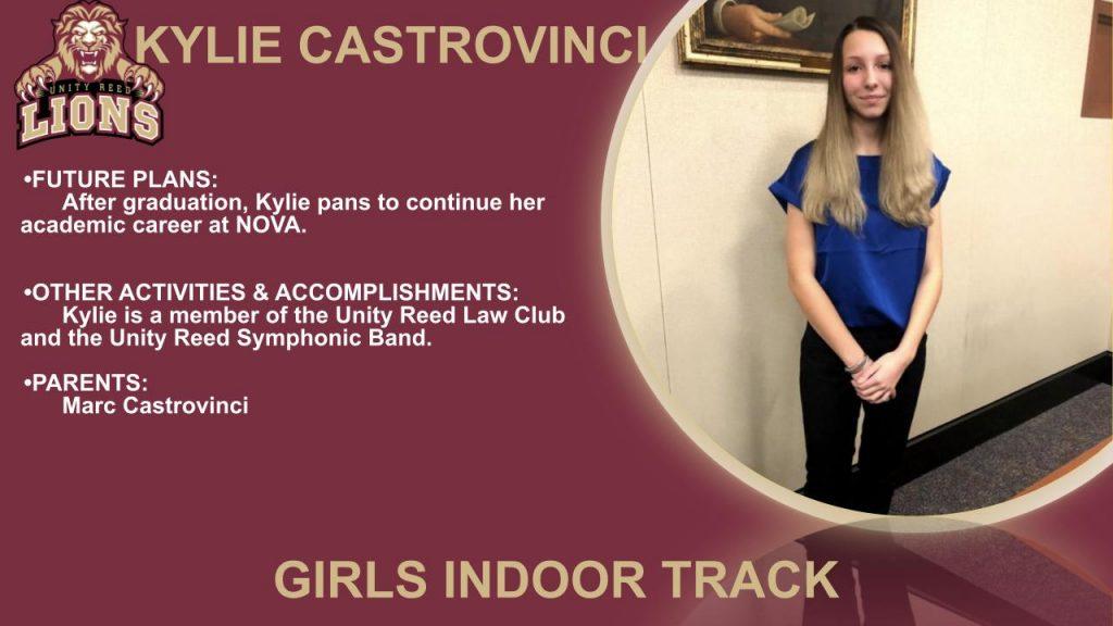 Kylie Castrovinci Senior Recognition