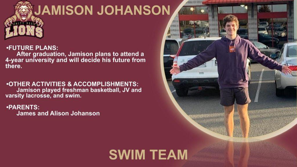 Jamison Johanson senior slide
