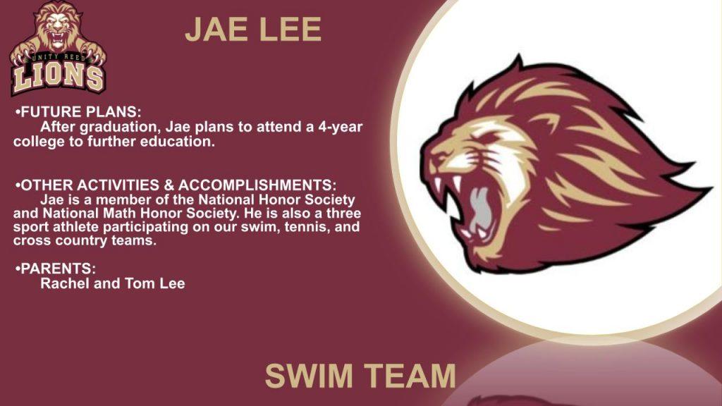 Jae Lee senior slide