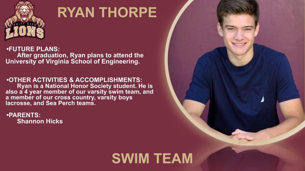Ryan Thorpe senior slide