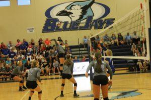 Varsity Volleyball vs Seckman 8/27