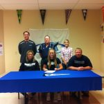 Morgan Rushing Signs to Play Softball