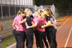 Dance Team @ Football Game 10/10/2014