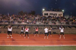 Cheer Squad vs Pius 9/12/14 Plus Little Cheer Camp