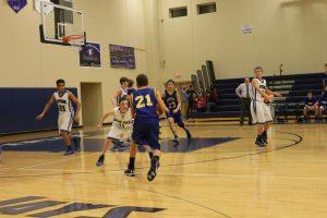 JV Boys Basketball vs St. Vincent 1/6/15