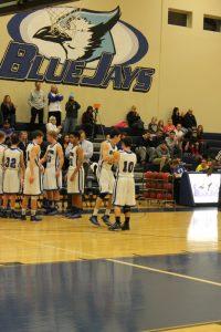Varsity Boys Basketball vs St. Vincent 1/6/15