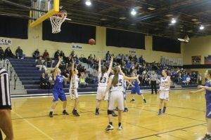 JV Girls Basketball @ Pius 1/15/15