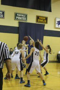 Varsity Girls Basketball @ Pius 1/15/15
