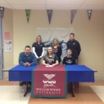 Ashley Perry Signs at WWU
