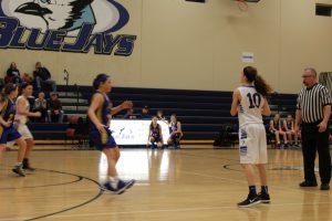 JV Girls Basketball vs St. Vincent 1/29/2015