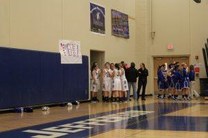 Varsity Girls Basketball vs St. Vincent 1/29/15