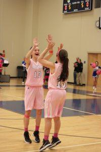Varsity Girls Basketball vs Herky 1/23/2015 Part 2