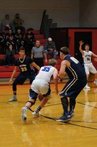 Boys Varsity Basketball vs Saxony 12/3/2015